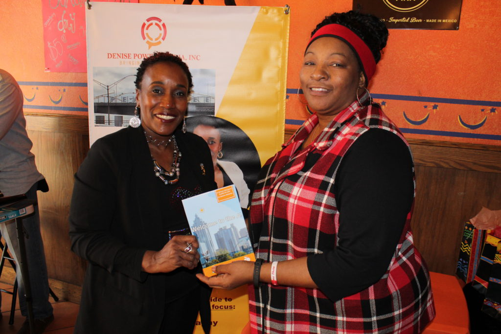 Book launch event for Denise Powell's new book Welcome to the A!